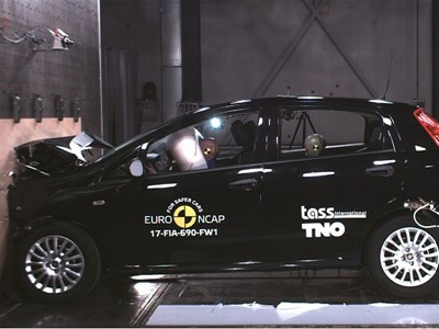 Fiat Punto - Euro NCAP Results 2017