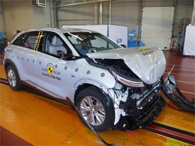 Hyundai NEXO - Frontal Full Width test 2018 - after crash