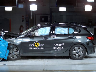BMW 1 Series - Euro NCAP 2019 Results - 5 stars