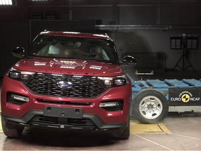 Ford Explorer - Euro NCAP 2019 Results - 5 stars