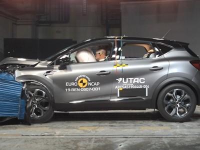 Renault Captur - Euro NCAP 2019 Results - 5 stars