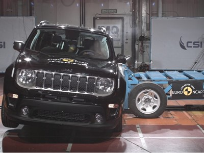 Jeep Renegade - Euro NCAP 2019 Results - 3 stars
