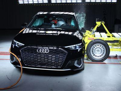 Audi A3 - Side Mobile Barrier test 2020