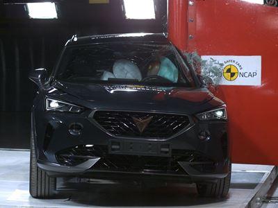Cupra Formentor - Side Pole test 2021