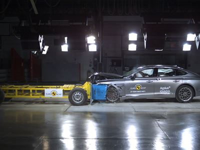 Genesis Marks European Launch with Euro NCAP Top Ratings for G80 and GV80