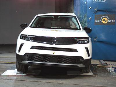 Opel/Vauxhall Mokka - Side Pole test 2021