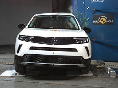 Opel/Vauxhall Mokka-e - Side Pole test 2021