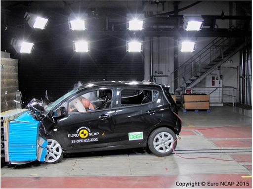 Opel/Vauxhall Karl  - Frontal Offset Impact test 2015