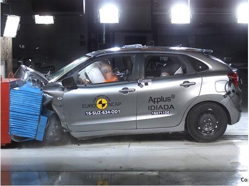 Suzuki Baleno - Frontal Offset Impact test 2016