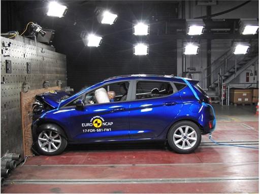 Ford Fiesta- Frontal Full Width test 2017
