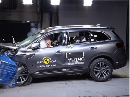 Renault Koleos - Frontal Offset Impact test 2017