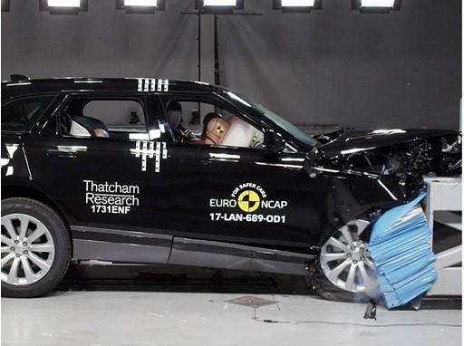 Range Rover Velar - Frontal Offset Impact test 2017