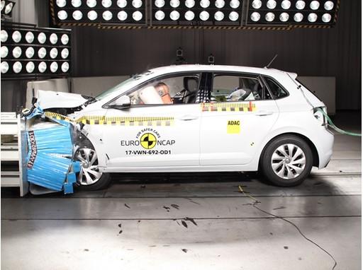 VW Polo - Frontal Offset Impact test 2017