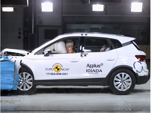 Seat Arona - Frontal Offset Impact test 2017