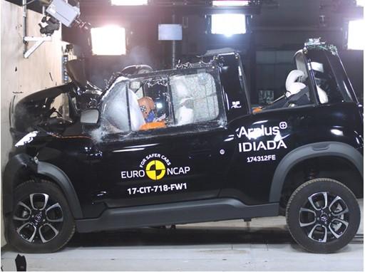 Citroën e-Mehari - Frontal Full Width test 2017