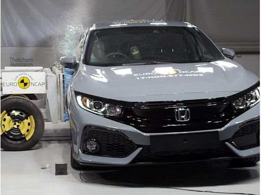 Honda Civic - Side crash test 2017