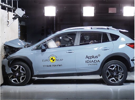 Subaru XV - Frontal Full Width test 2017