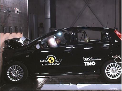Fiat Punto - Frontal Full Width test 2017
