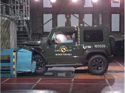 Suzuki Jimny - Frontal Offset Impact test 2018