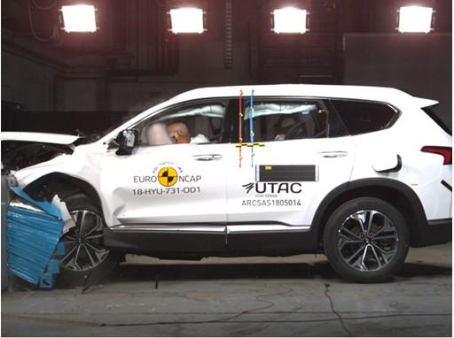 Hyundai Santa Fe - Frontal Offset Impact test 2018