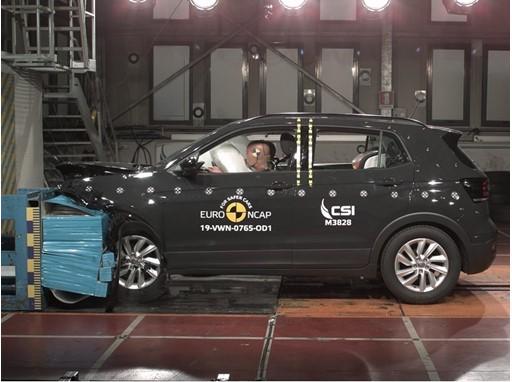 Volkswagen T-Cross - Frontal Offset Impact test 2019