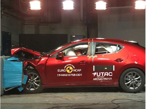 Mazda 3 - Frontal Offset Impact test 2019