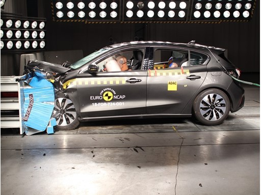 Ford Focus - Frontal Offset Impact test 2018