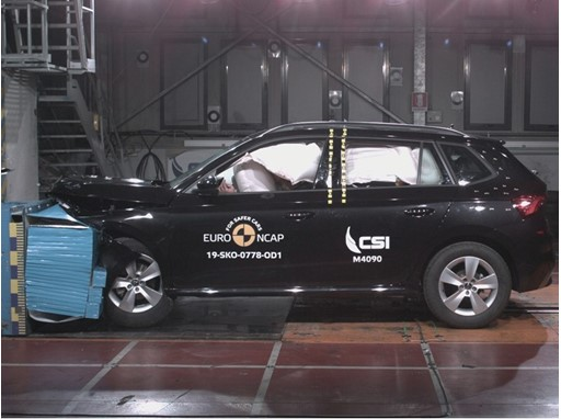 Škoda Kamiq - Frontal Offset Impact test 2019
