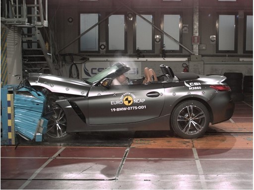BMW Z4 - Frontal Offset Impact test 2019