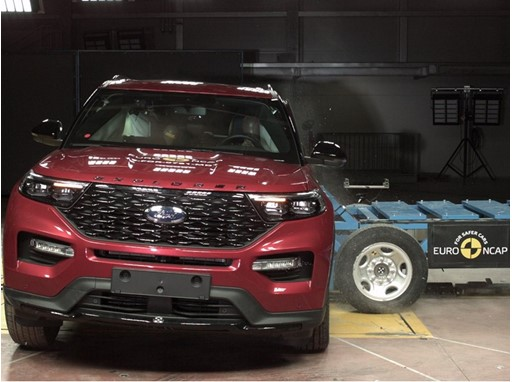 Ford Explorer - Side crash test 2019