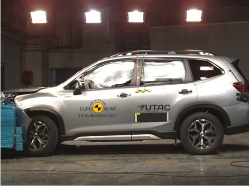 Subaru Forester - Frontal Offset Impact test 2019