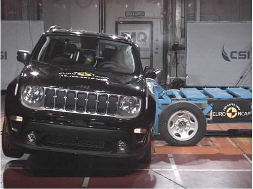 Jeep Renegade - Side crash test 2019