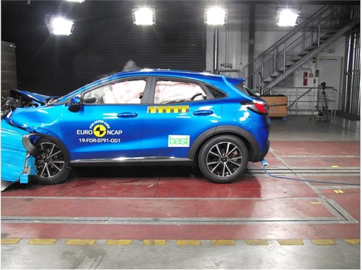 Ford Puma - Frontal Offset Impact test 2019