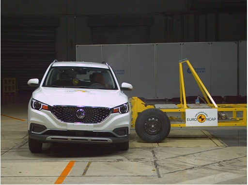 MG ZS EV - Side crash test 2019