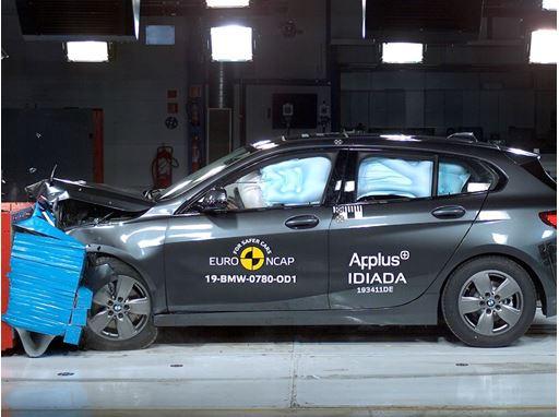 BMW 1 Series - Frontal Offset Impact test 2019