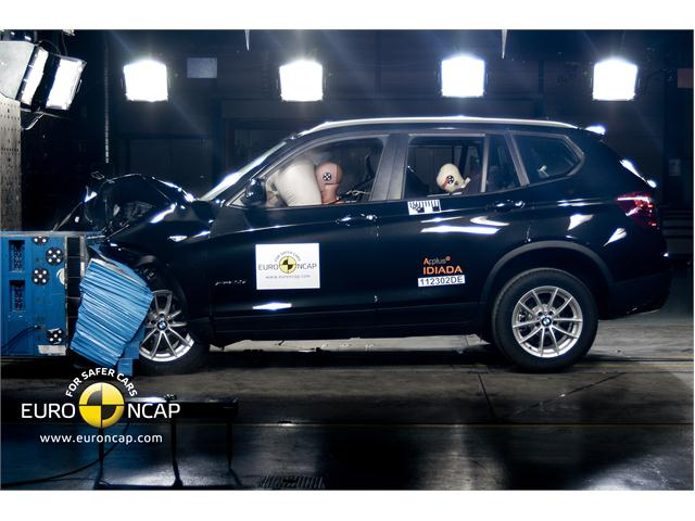 Euro NCAP Newsroom : BMW X3 - Front crash test