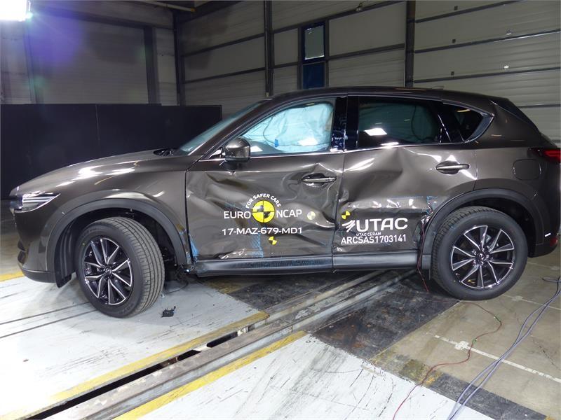 Euro NCAP Newsroom : Mazda CX-5 - Euro NCAP Results 2017
