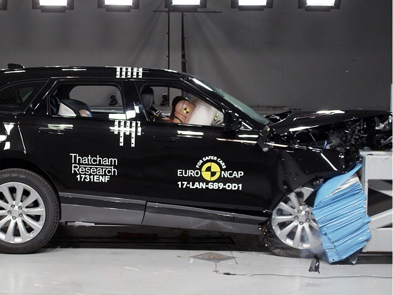 Euro NCAP Newsroom : Velar Joins the Ranks of Europe's Safest ...
