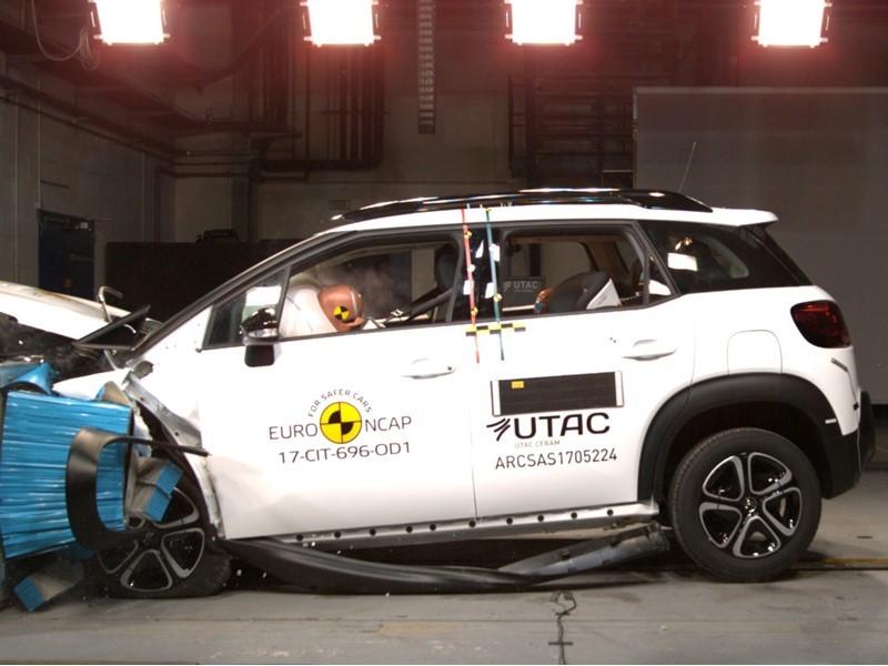 Euro NCAP Newsroom : Citroën C3 Aircross - Euro NCAP Results ...