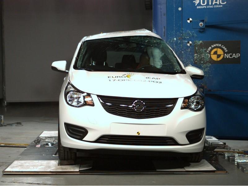 Euro NCAP Newsroom : Opel Karl - Euro NCAP Results 2017