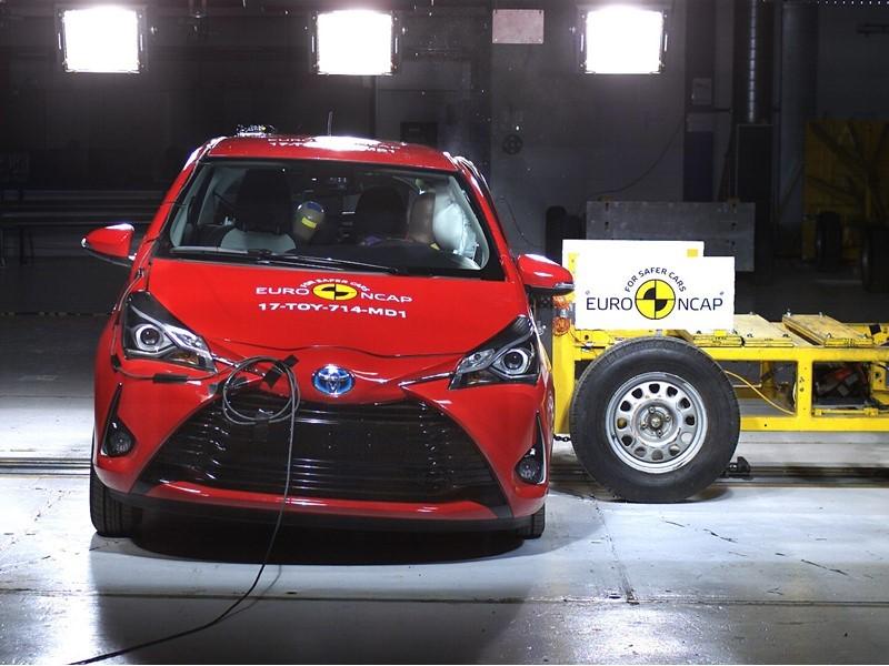 Euro NCAP Newsroom : Toyota Yaris - Euro NCAP Results 2017