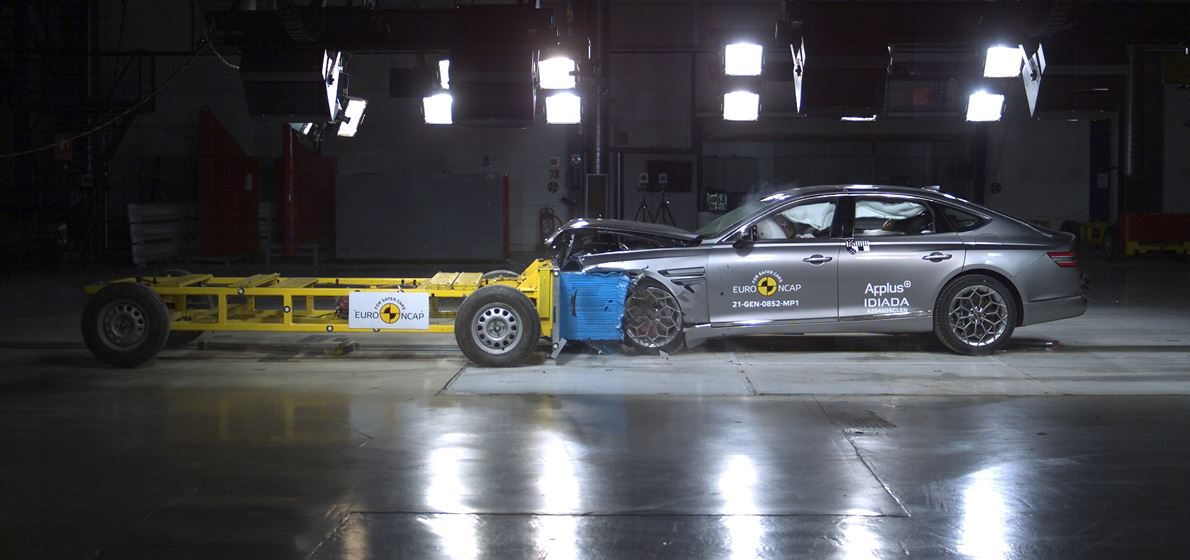 Genesis Marks European Launch with Euro NCAP Top Ratings...