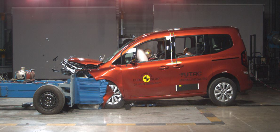 Kangoo and Mokka Return with Four Stars in Euro NCAP Safety Tests