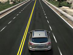 Euro NCAP Advanced reward for Infiniti LDP