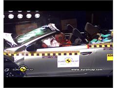VW Golf Cabriolet - Crash Tests 2011