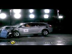 HYUNDAI i40 - Crash Tests 2011