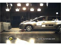 Peugeot 5008 -  Euro NCAP Results 2009
