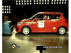 Suzuki Swift -  Euro NCAP Results 2010