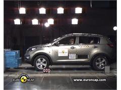 Kia Sportage -  Euro NCAP Results 2010