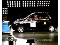 Nissan Micra -  Euro NCAP Results 2010